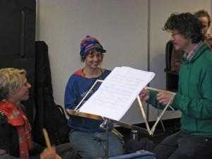 Searching for Ennio Morricone, Rehearsal 1, Nov 2010