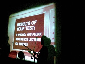Cube Orchestra Rehearsal: You Flunk