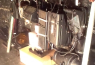 Lamp Store Behind Screen