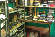 Projection Room Shelves